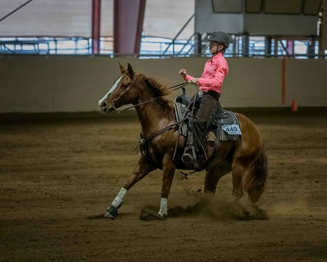 Louise Lysen, Barrel Racing