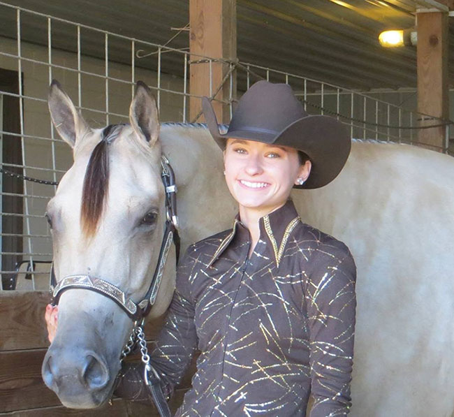 Cassie Weyers, Barrel Racing