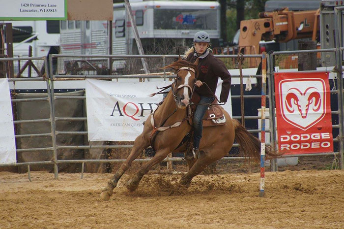 Juliet DeGeorge, Barrel Racing